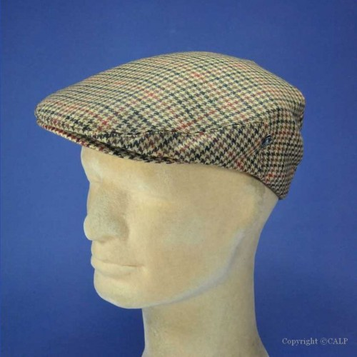casquette anglaise cachemire homme