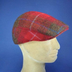 Casquette homme hiver Harris Tweed