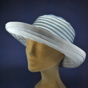 Chapeau grand bord anti UV femme
