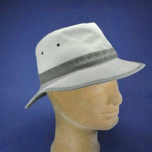 chapeau été tissu safari bengale toffee kaki