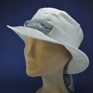 Chapeau lin coton d'été femme