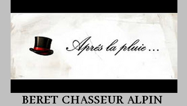 beret chasseur alpin