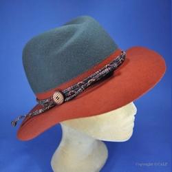 chapeau feutre femme