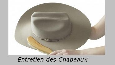 entretien des chapeaux