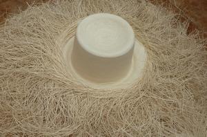 fabrication chapeau panama